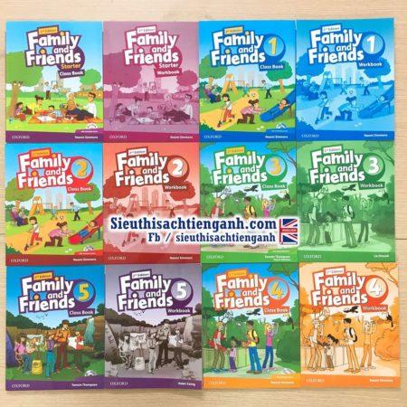 Sách] Trọn bộ 6 level Family and Friends bản 2nd Edition Class book + Workbook – Siêu thị sách Tiếng Anh